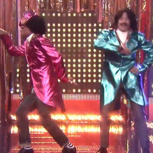 Pharrell and Jimmy Fallon Get Their Funk On as '80s R&B; Duo Afro & Deziak—Watch Now! | E! Online