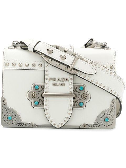2186c6bd989e Prada Cahier Shoulder Bag - Farfetch