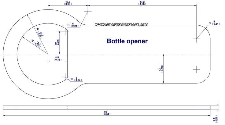 bottle opener 5 drawing verpakking opener pinterest bottle opener drawings and projects. Black Bedroom Furniture Sets. Home Design Ideas