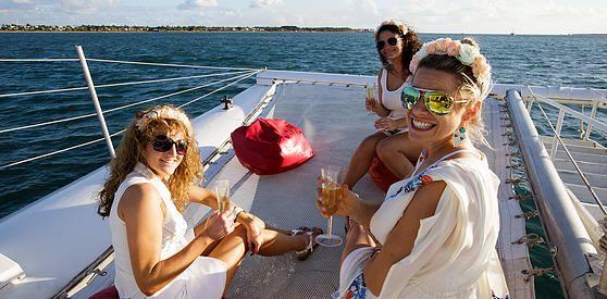 Hens Party Fiji ideas Sunset Dinner Cruise Outrigger Bucks Stag Do Denarau