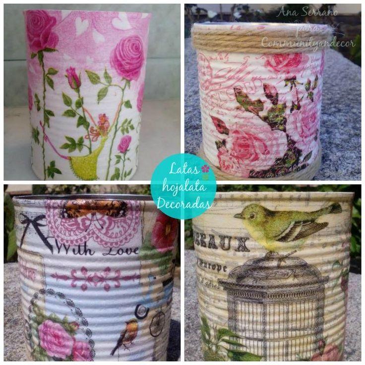 5 sencillos pasos para reciclar latas de hojalata
