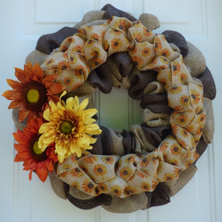 Fall Burlap Wreath/Thanksgiving Door Decorations/Fall Wreaths for Door/Fall Front Door Wreaths/Fall Wreath/Burlap Wreath/Fall Door Decor by OneofaKindWreath on Etsy