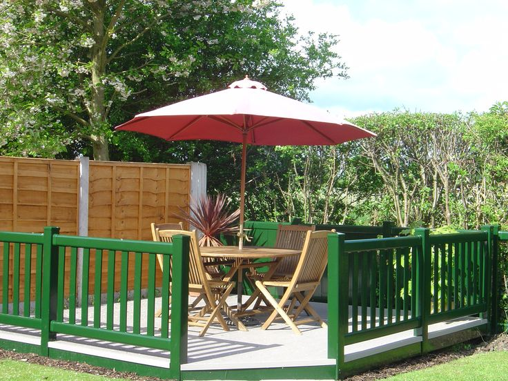Fensys luxury UPVC plastic garden decking needs only the occasional clean with lightly soaped water. no staining, sanding or painting