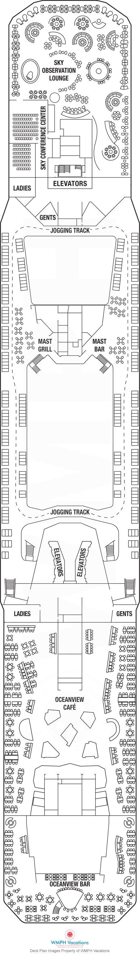 Best Deck Plans Images On Pinterest Deck Plans Decks And - Celebrity cruise ship silhouette deck plans