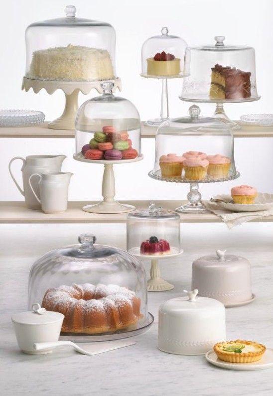 Martha stewart cake plate and dome