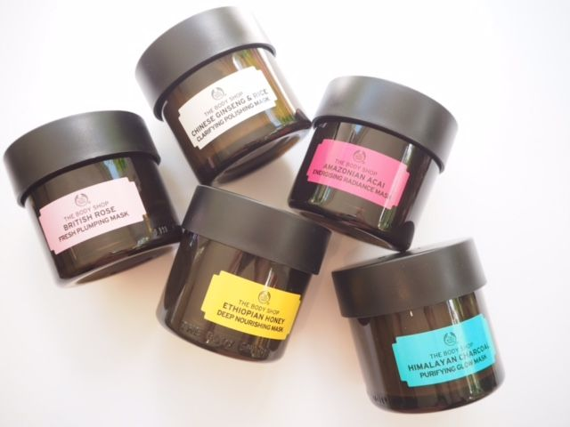The Body Shop Superfood Face Masks (BritishBeautyBlogger)