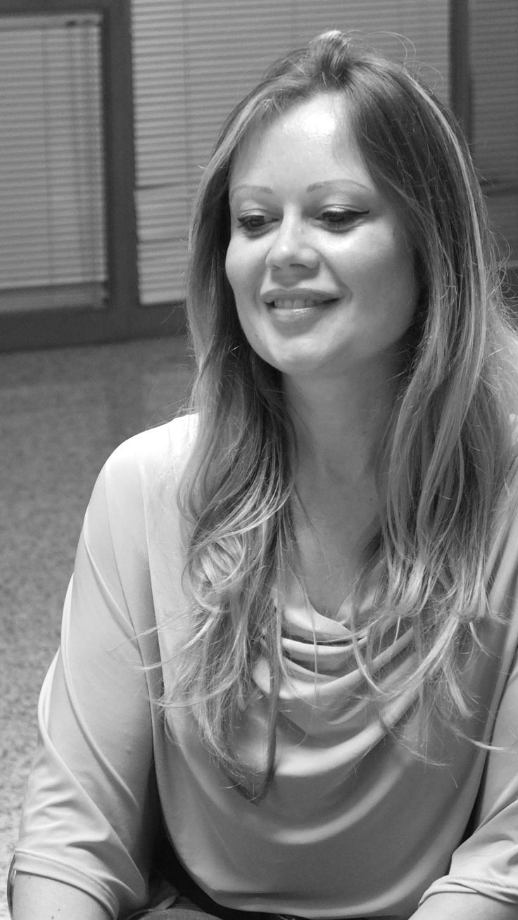 Stefania durante le selezioni degli 8 testimonial di #MyPugliaExperience.