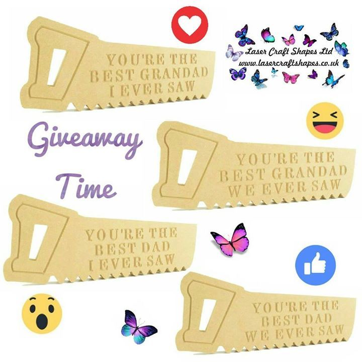It's GIVEAWAY TIME with facebook emoji's  For a chance to win one of our freestanding saws perfect for fathers day simply    CLICK the emoji of the one you'd like to win   Comment with ME PLEASE   SHARING is caring but not a condition of entry  TAG up to 4 friends to increase your chances of winning more than one saw! this isn't compulsory but fun to do :)  Please be a liker of our page again this isn't compulsory but how will you know if you've won!    Terms and conditions apply  Giveaway…