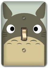 Cute Totoro Cartoon Metal Switch plate Wall Cover Lighting Fixture Decor SP742