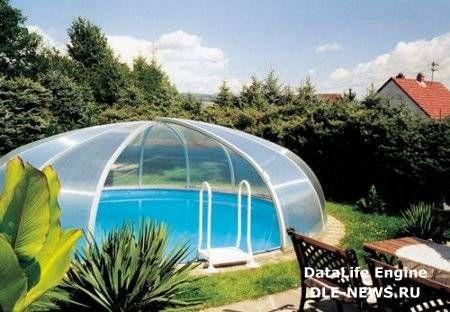 round pool enclosure