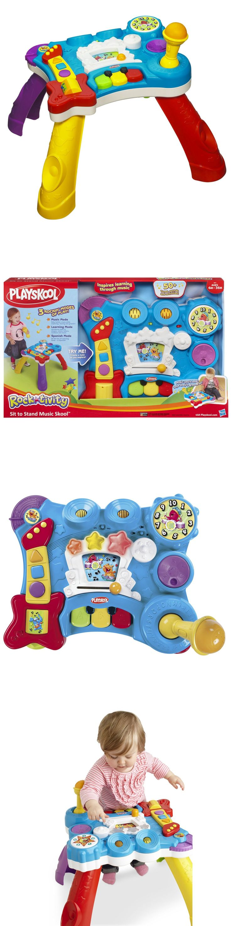 Playskool 2576: Playskool Rocktivity Sit To Stand Music Skool Toy -> BUY IT NOW ONLY: $67.99 on eBay!