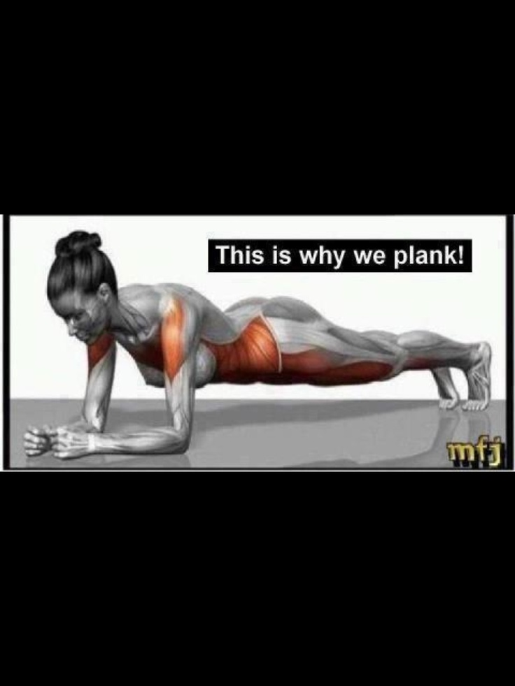 Start with a minute plank a day for a week, and add a minute every week, the longer the Plank, the toner the Core..