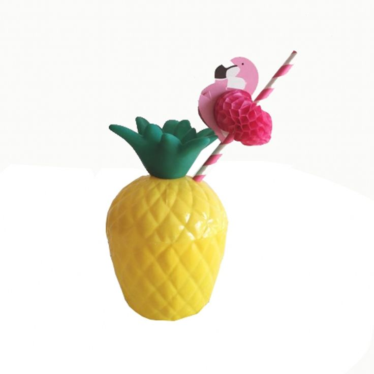 Pineapple Cup Children's Plastic Cups with Straw Christmas Gift pineapple bottle Water Cup Bottle for party