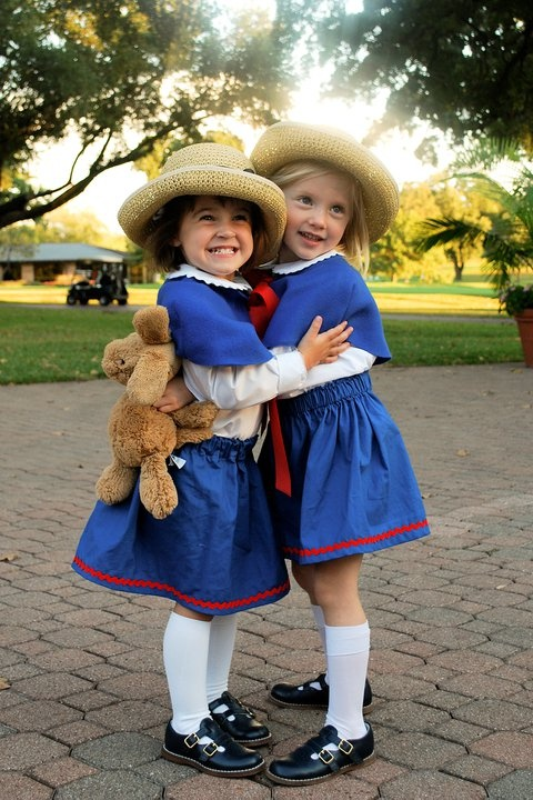 I've always wanted to be Madeline. It's one of the few things that works with my hair. I just need this to be at least 3 times this size. :)