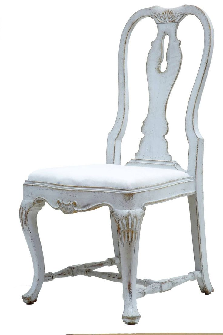 Rare Set Of 12 19th Century Queen Anne Influenced Painted Swedish Dining Chairs   From a unique collection of antique and modern dining room chairs at https://www.1stdibs.com/furniture/seating/dining-room-chairs/