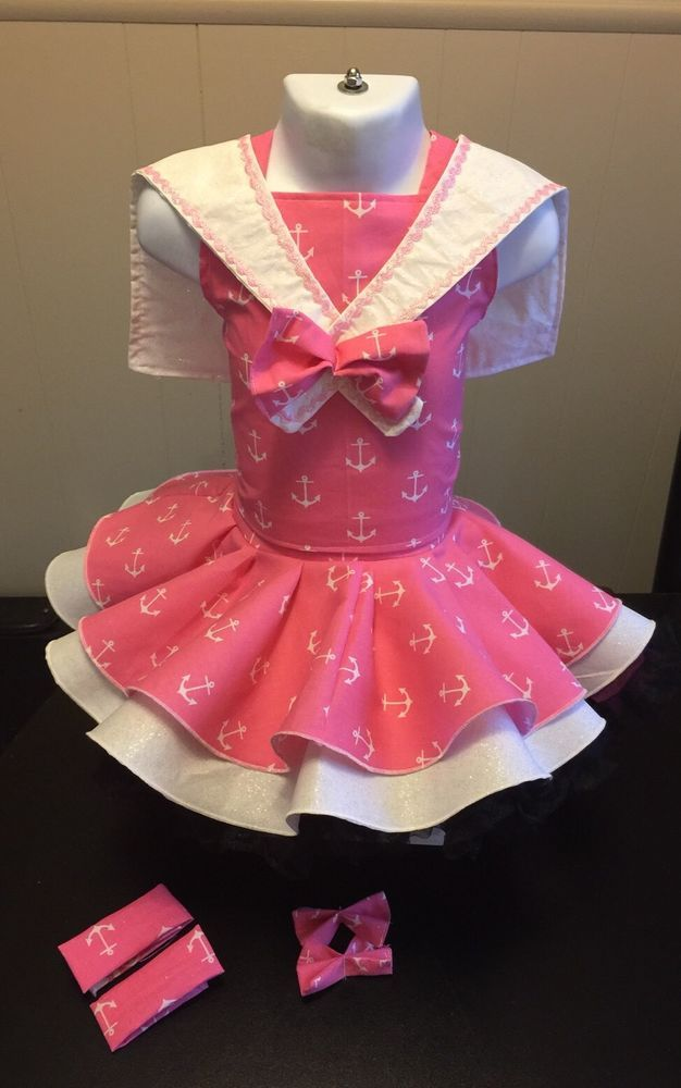 National Pageant Sailor Nautical Wear OOC Casual Wear  Size 3-5t    eBay