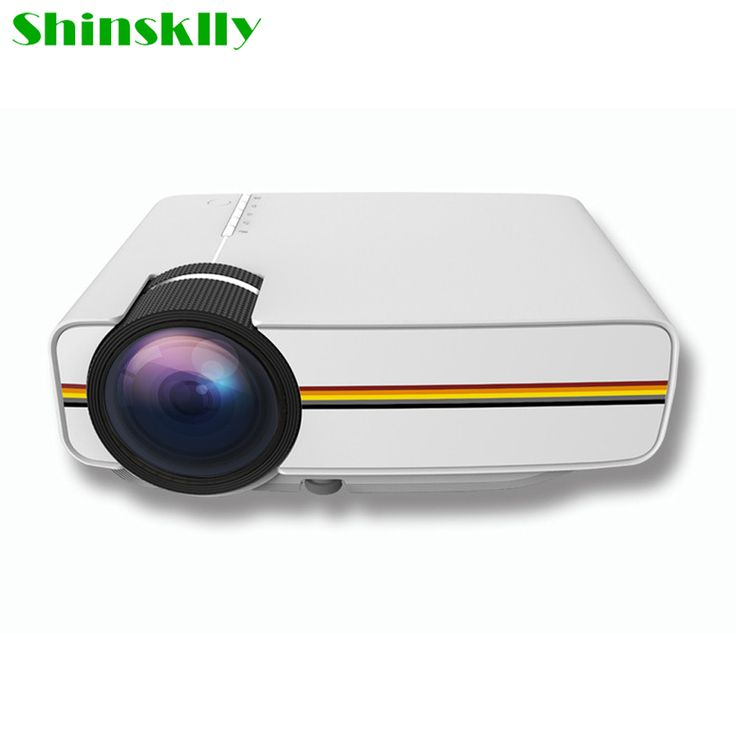 >> Click to Buy << Shinsklly Mini Portable Projector Wireless WIFI 1000 Lumen Full LED Video Home Cinema Projectors Business HDMI Beamer pk X7 UC40 #Affiliate
