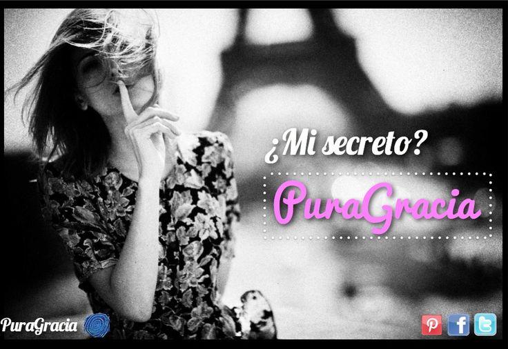 Mi secreto de belleza es PuraGracia