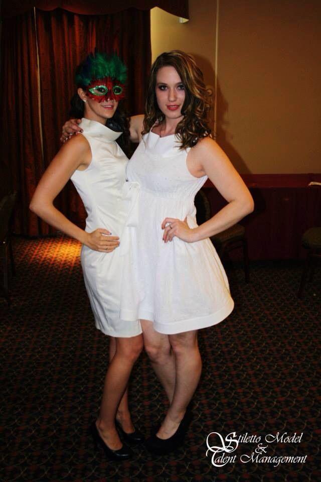 "SMTM Models ""Ashley & Jenny"" @ the Escape to Rio Fashion Show 2012"