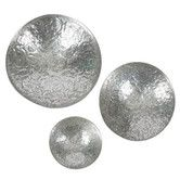 Found it at Temple & Webster - Set of 3 Aluminium Antique Wall Bowls