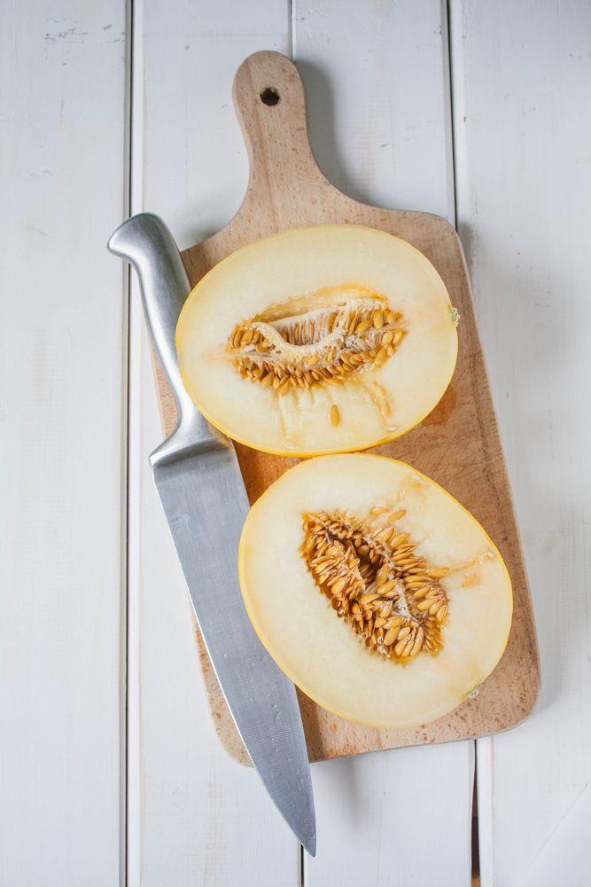 Smoothie z melona i pietruszki