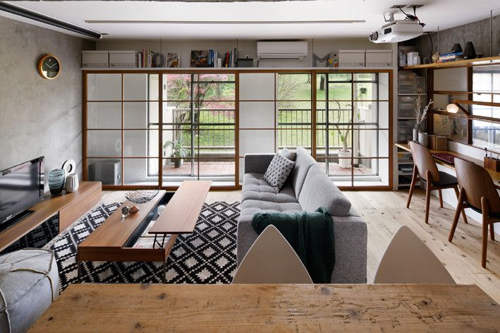 青葉の家 - BATTIRI DESIGN /住宅設計/中古マンションリノベーション/横浜