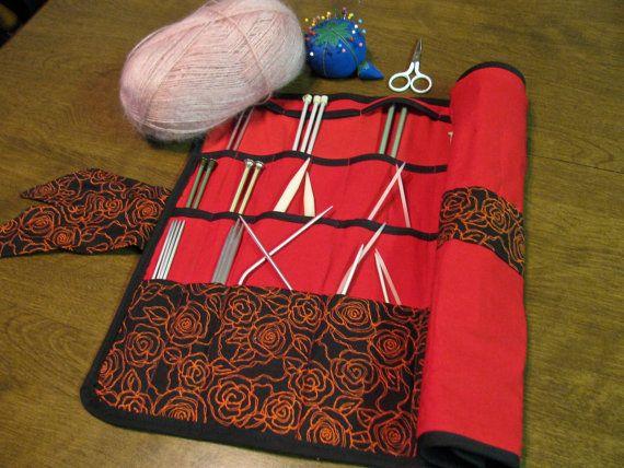 Needle/Hook/Craft Roll-up Organizer