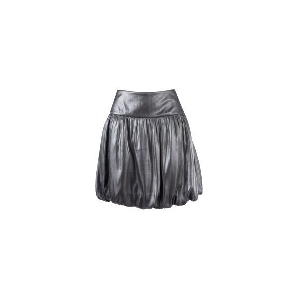 Matalan - Metalic bubble skirt ($17) ❤ liked on Polyvore featuring skirts, bubble skirts and metal skirt