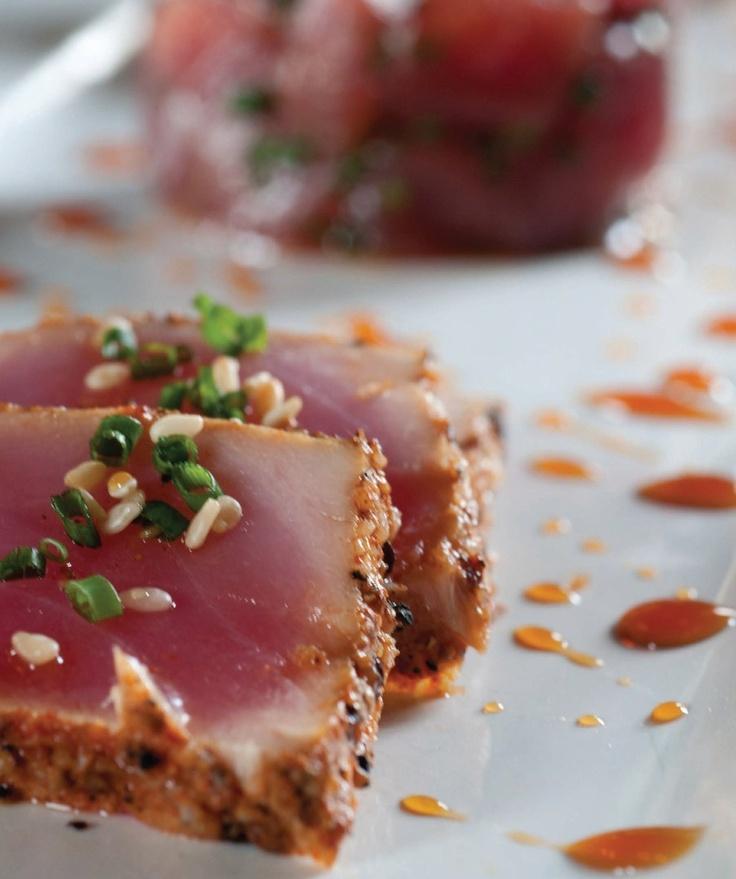 Seared Ahi Tuna Recipe — Dishmaps