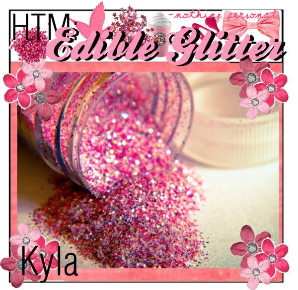 How To Make: Edible Glitter~1/4 cup sugar, 1/2 teaspoon food coloring, bake 10mins on cookie sheet