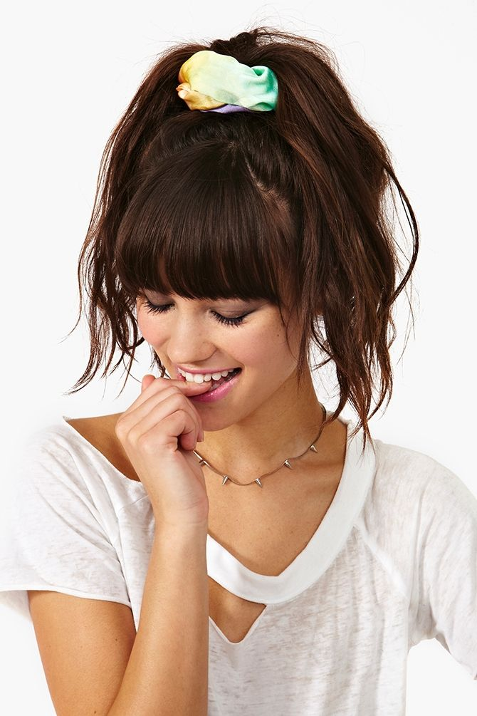 hair style for summer rope em in satin jumpsuit tie dye festivals and bangs 3122