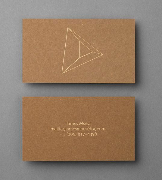 Graphical Inspiration # 4: The original and creative business cards | BlogDuWebdesign