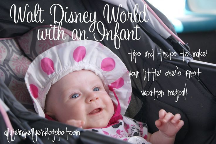 Tips for visiting Walt Disney World with a Baby