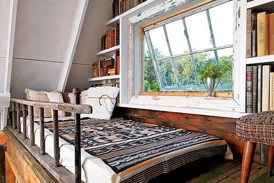 Sweet loft bed.