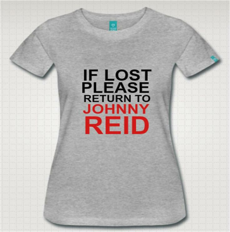 If lost please return to Johnny Reid