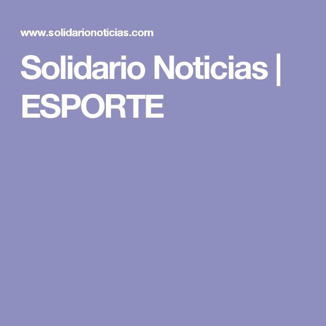 Solidario Noticias | ESPORTE