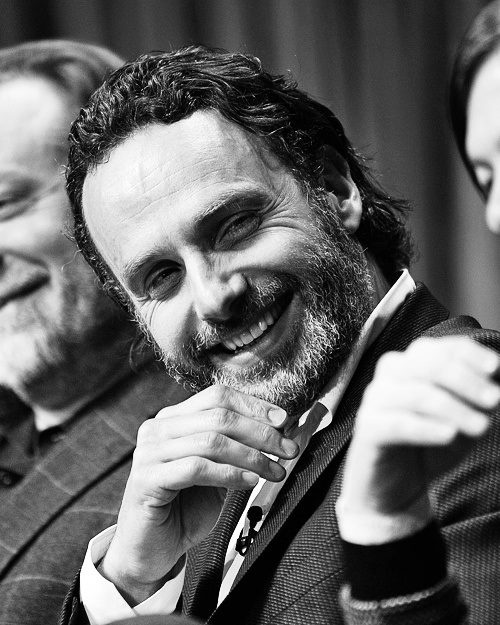 Andrew Lincoln (Rick Grimes on the show) #thewalkingdead