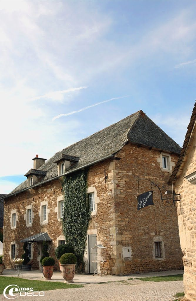 Stone Farmhouse In France House Exterior French
