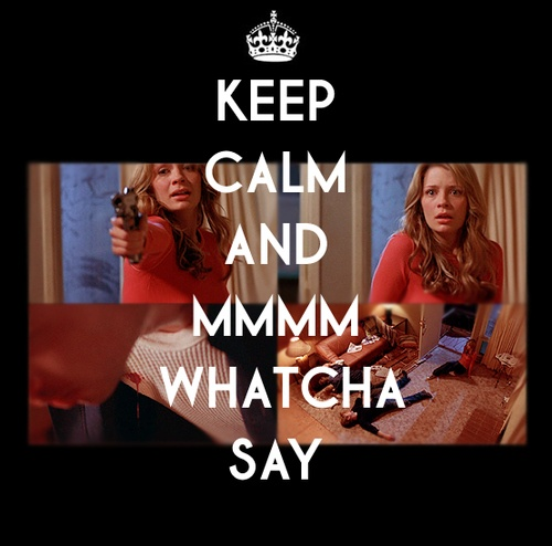 "The OC...stupid version of ""keep calm and..."" but then again, they all are stupid. but this scene was crazy!!"