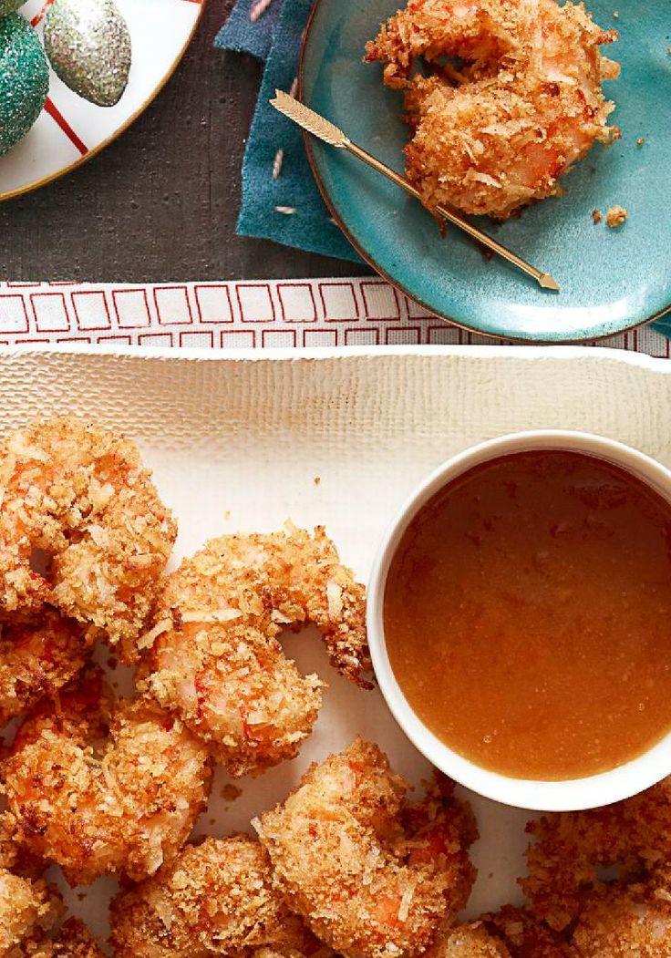 Camarones con coco y salsa dulce-picante-Esta receta de camarones tiene un poco de todo, dulce, picante, crujiente y sobre todo delicioso, y solo tarda menos de 30 minutos en hacer.