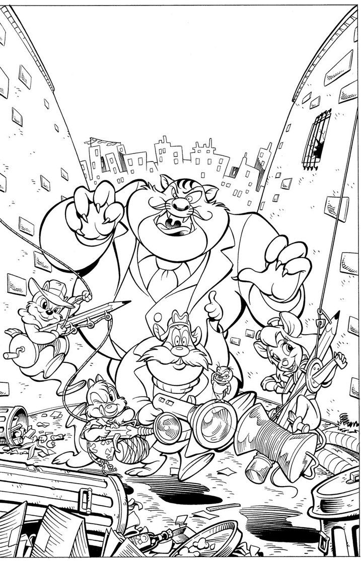 Uncategorized Chip N Dale Coloring Pages 17 best knabbel en babel images on pinterest chips chip and n dale rescue rangers coloring bing images