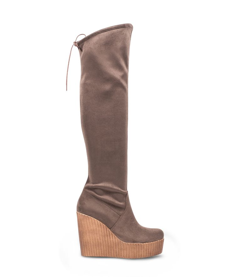 CARAD over the knee platform boot for those who wants difference! Cigar