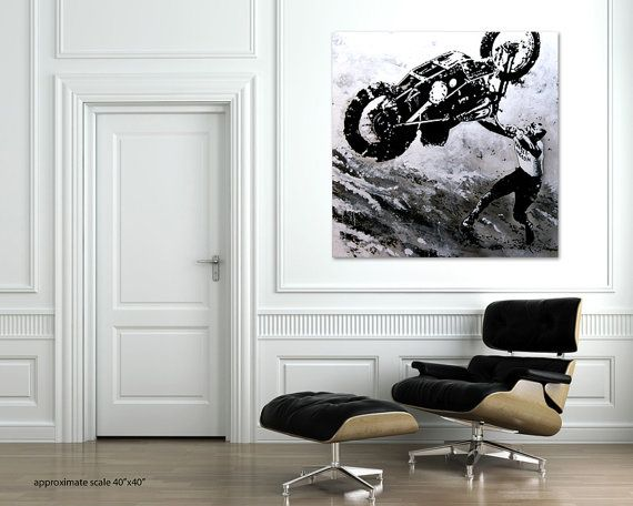 Up Hill Rider by RescopeGallery on Etsy