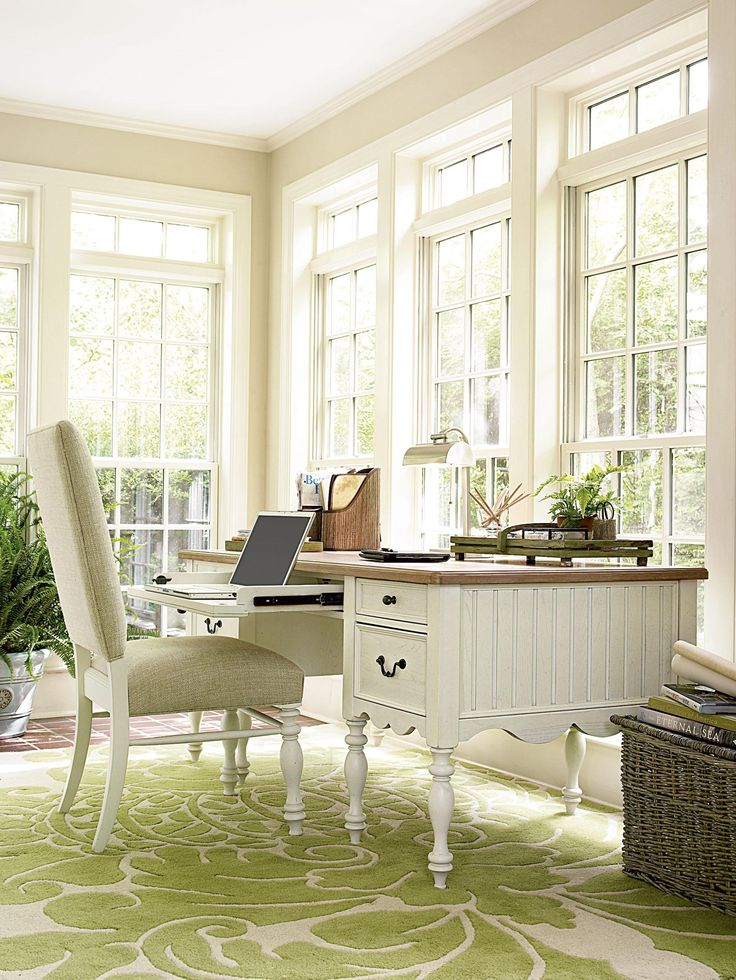 sunroom office ideas. bright and airy offce space the rug is fabulous sunroom officesunroom ideastraditional office ideas h