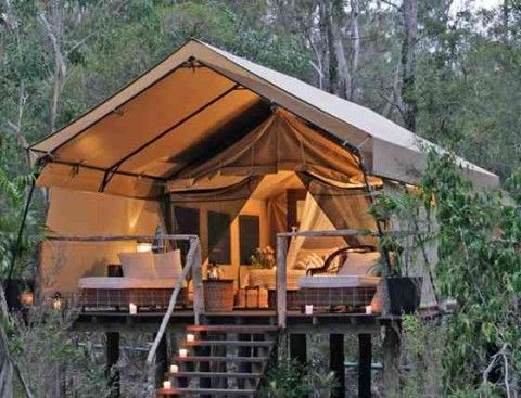 Paperbark Camp, Australia: Glamping, Sawmil, Idea, Paperbark Camps, Dreams Vacations, Outdoor Living, Trees Houses, Treehouse, Tent Camps