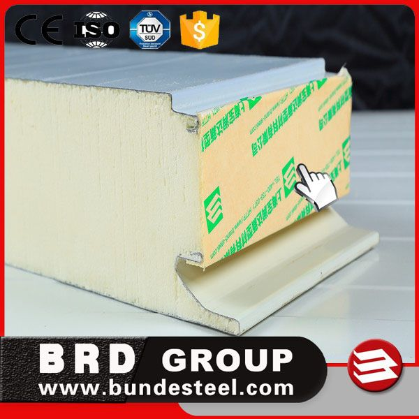 China manufacturer polyurethane cold room wall panel for cold storage