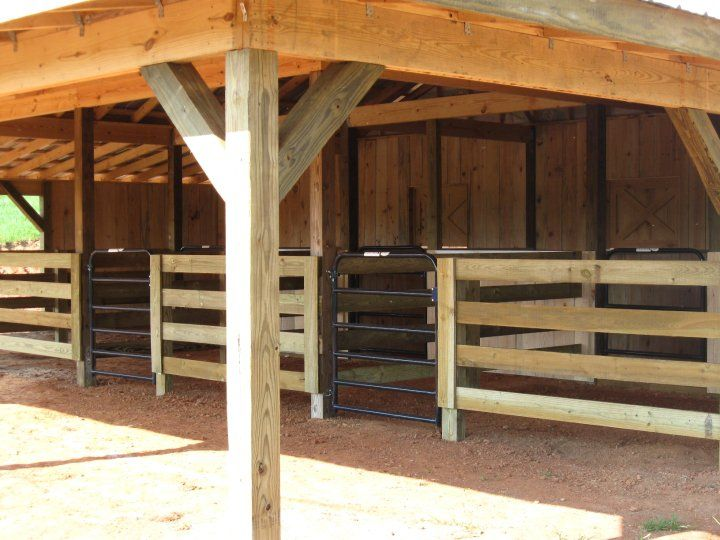 Small basic rescue barn house and home pinterest for 2 stall horse barn kits