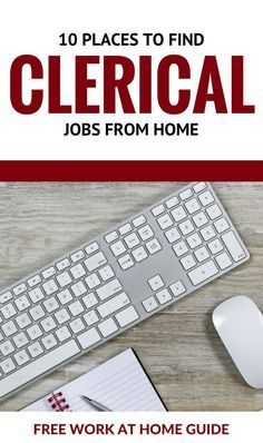 10 places to find clerical jobs from home free work at home guide clerical jobs in banks