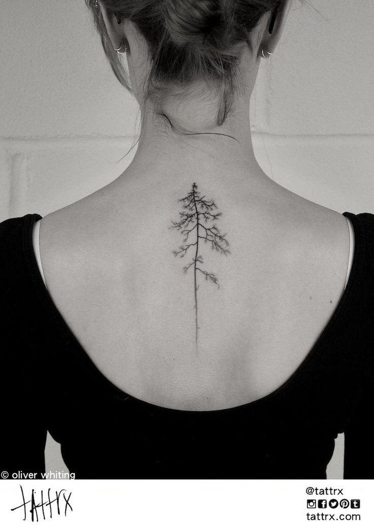 17 Tatuajes que vas a querer tener en tu columna vertebral                                                                                                                                                     More
