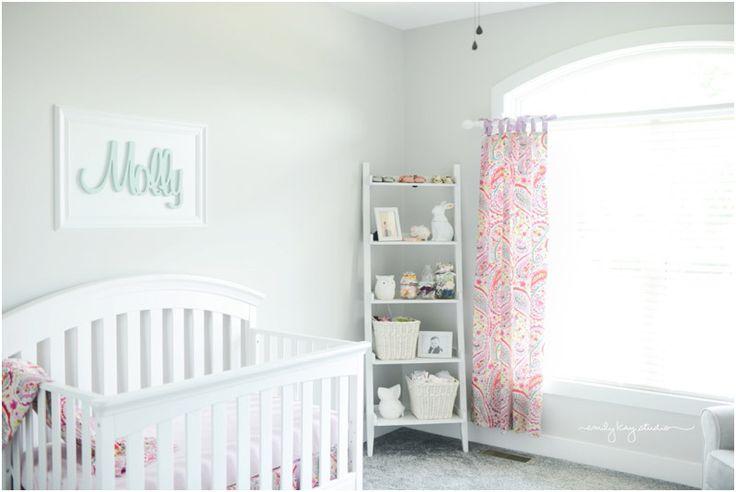 Project Nursery - Simple and Sweet Paisley Nursery